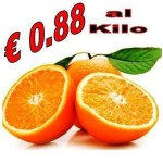 ARANCE CALABRESI AD €0.88/KG