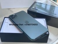 Apple iPhone 11 Pro 64GB = €600,iPhone 11 Pro Max 64GB = €650 ,iPhone XS64GB = €400 , iPhone XSMax 64GB = €430 ,  Whatsapp Chat : +27837724253